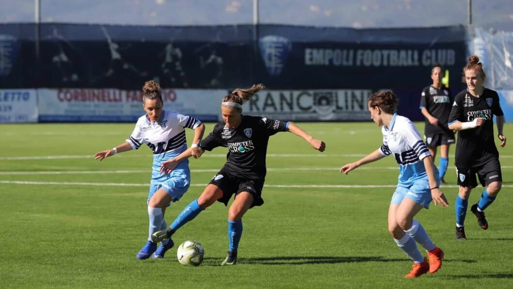 OPP OG FRAM: Ness trur kvinnefotballen i Italia vil ta store steg i åra som kjem.