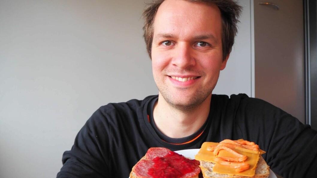 Ikkje prøvd brunost med kaviar? Lars Haugen Aardal går i spissen for utviklinga av det nye smakslaboratoriet og lovar mange spanande opplevingar.