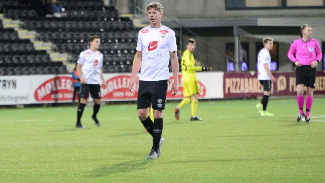 SURT TAP: Mathias Sundberg tykkjer laget hadde fortent å gå vidare mot ein kynisk motstandar.