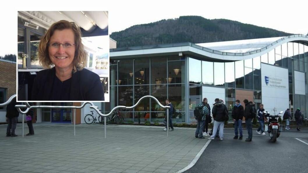 NY REKTOR: Sogndal vidaregåande skule har fått ny rektor.