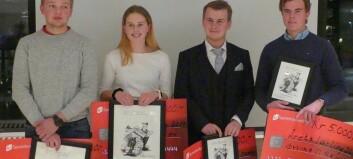 Jakob (19) frå Sogndal er Årets lærling i Vest