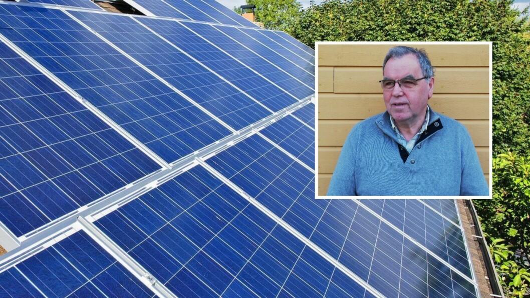 MILJØ: Aslak Nyhammer i Gulen Venstre er oppteken av at kommunen tenkjer klima og miljø når den føretek nye investeringar og innkjøp.