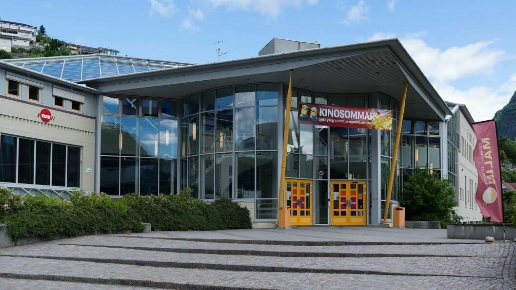 BESØKSSVIKT: Færre folk går på kino. I 2019 tapte Sogndal kulturhus 400.000 kroner i billettinntekter.