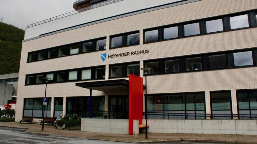 SAMTALAR: Høyanger kommune held fram samtalane med Balestrand kommune om kor mykje kommunen skal betale for skulehuset på Nessane.