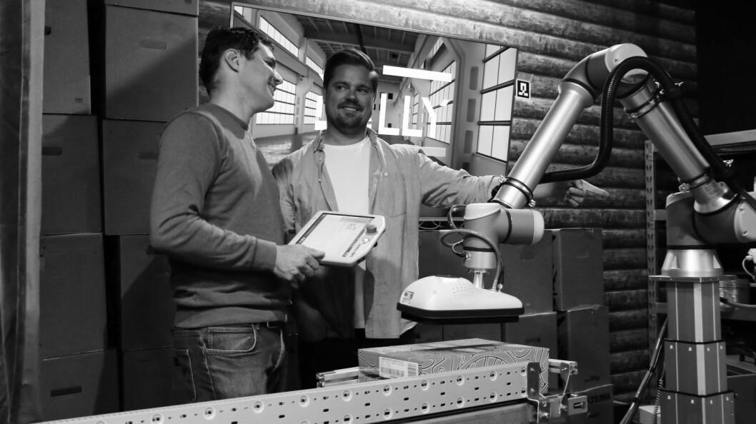 Teknoløft og Rocketfarm fann ut at dei hadde same mål, og no samarbeida ved å leige ut robotar til bedrifter i distriktet.