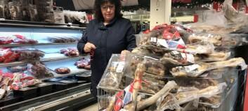 I år finn du tonnevis med pinnekjøt frå Sogn i butikkhyllene