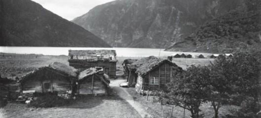 Gardstun i Øvre Årdal