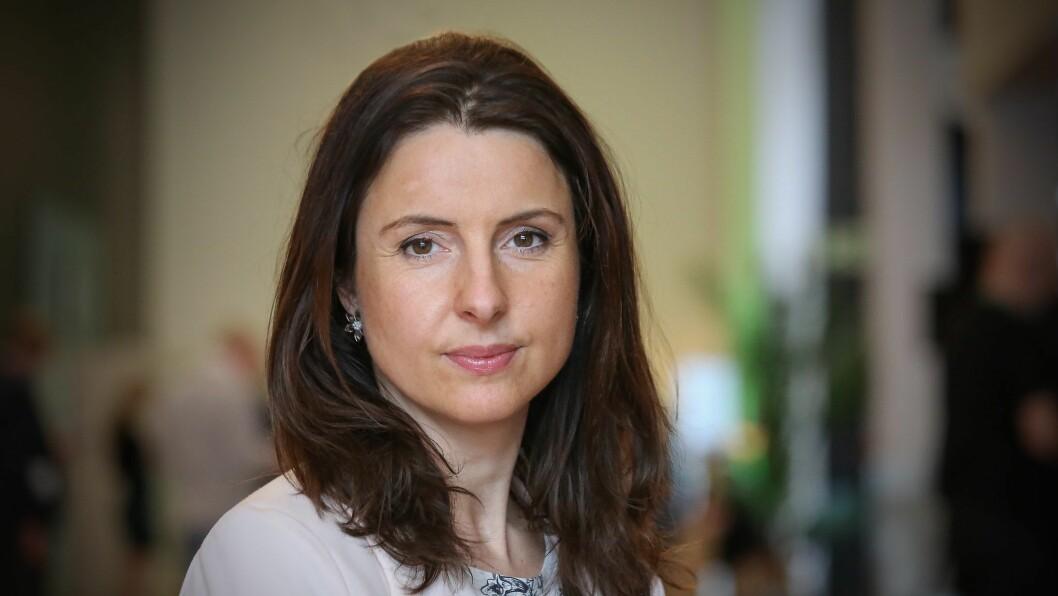 KRITISK: Justispolitisk talsperson for Sp, Jenny Klinge, kritiserer det ho meiner er oppspinn frå Høgre og Frå i innlegget.