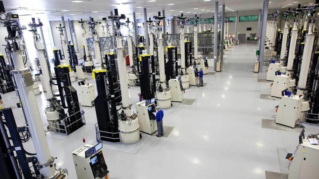 FEKK FORSKINGSKRONER: NorSun fekk 16 millionar kroner til forsking og utvikling. Hydro Aluminium fekk òg midlar.