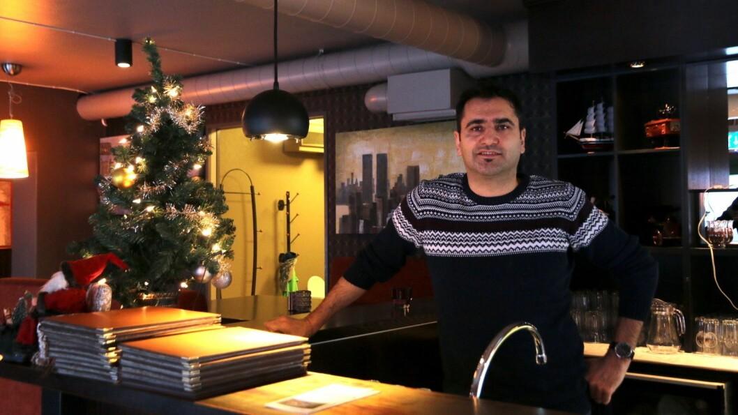 PUSSAR OPP: Restauranten Mama Mia i Øvre Årdal skal pussa opp lokala og utvida tilbodet.