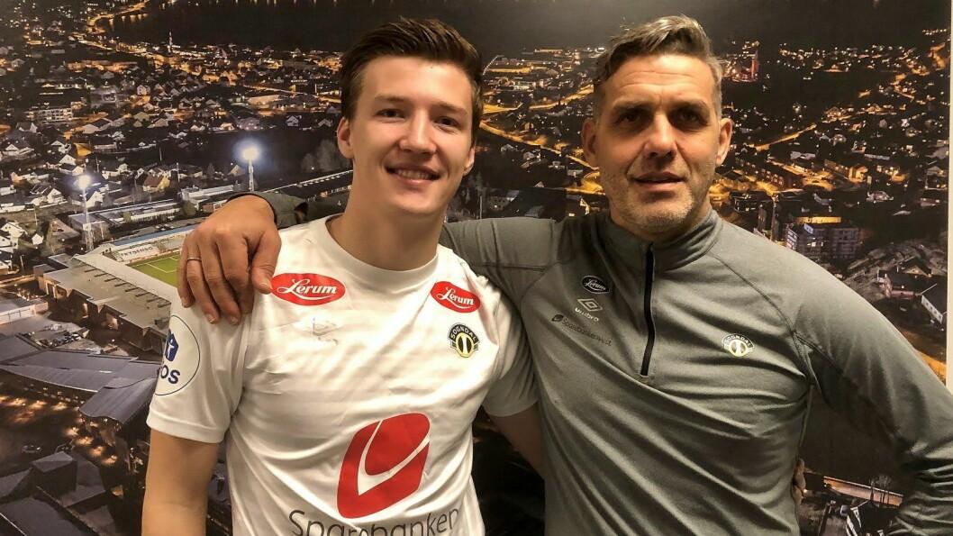 NY SPELAR: Sogndal fotball har signert Axel Kryger frå Sandnes Ulf.