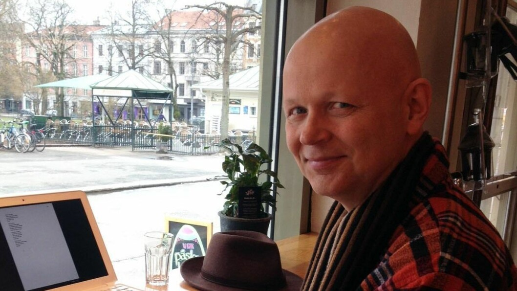 - EIN DOBBEL TRAGEDIE: Tomas H.V Mørkrid vart mobba gjennom skulegangen i Årdal. Det medførte store traumer og vanskar ut i vaksenlivet.