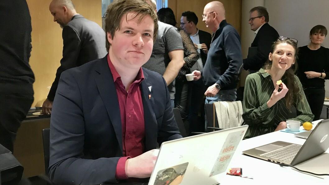 SKUFFA: Hans Christian Knudsen (SV) er ikkje nøgd med innsatsen for å rekruttera medlemmar til ungdomsrådet.