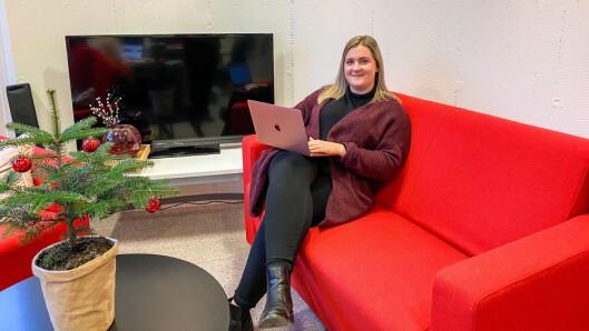 Fylkesleiande på jobbannonser: Kristine Haglund har vore med å utvikla Porten.no til ein sterk kommersiell kanal, som mellom anna er fylkesleiande på jobbannonser.