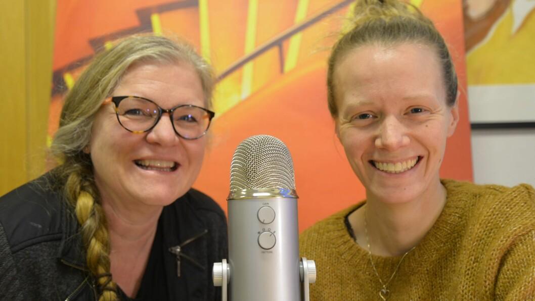 DUO: Journalistane Oddrun Midtø og Torunn Todal Laberg vil gå i djupna med det journalistiske prosjektet Sogningen i Vestland.
