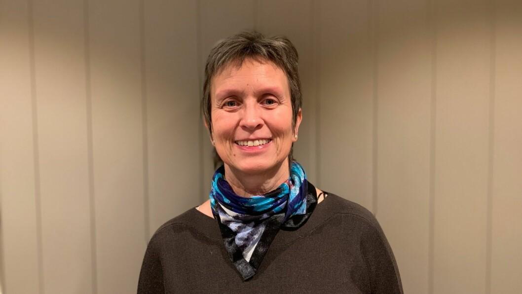 FERSK: Ingunn Sognnes har tidlegare blant anna vore fylkessekretær for KrF, men har no starta opp i ny jobb som kyrkjeverje.