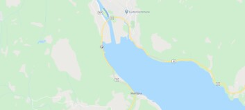 Bil køyrde inn i ras i Luster, fjellovergang stengt i Årdal