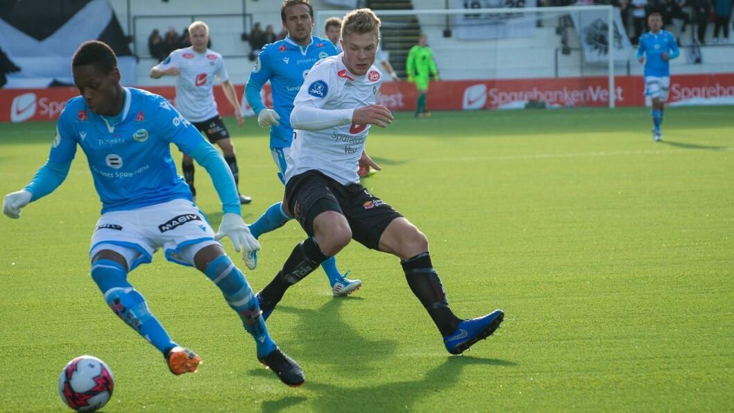NYTT STEG: Ulrik Fredriksen skal dei neste fire sesongane spela for FK Haugesund.