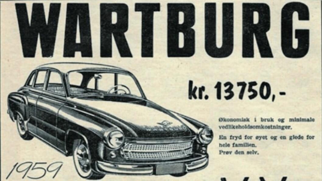 GROMBILEN: Bil til sals for 13.750 kroner.