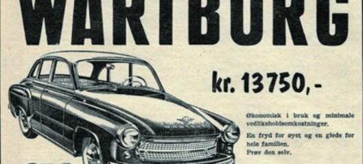 Frislepp på bilsalet i 1960