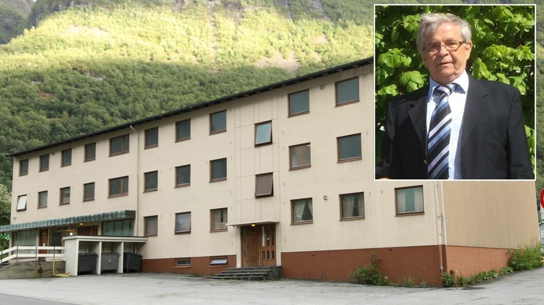 MEINING: Gudbrand Ingolfsson meiner det er nok bustader i Årdal, og at kommunal utbygging av fleire vil føra til tap for bustadeigarar i kommunen.