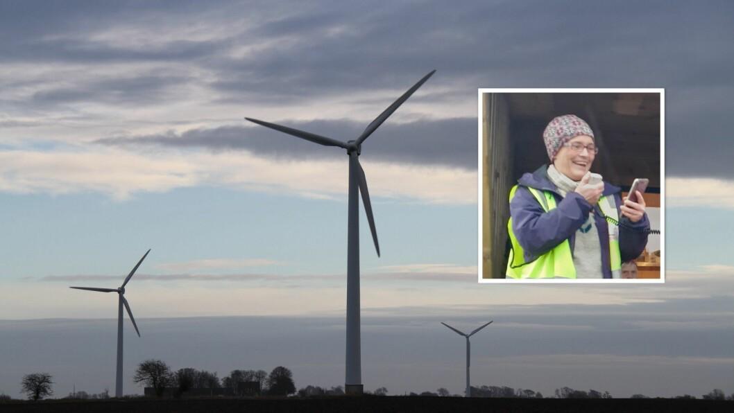 SAMAN: Anita Haukås Oppedal i Vern om nordhordlandsfjella (VON) og Motvind Norge meiner det er viktig at dei som er mot vindindustri engasjerer seg og seier frå.