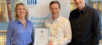 Sogndøl fekk pris for oppgåve om akustikk i klasserom