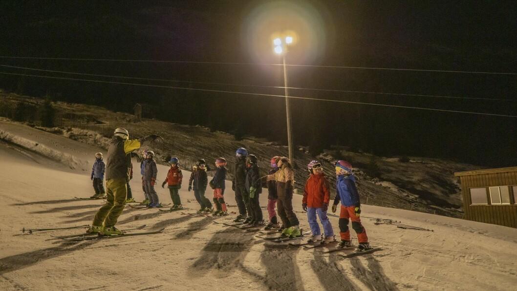 Alpingruppa har tredobla etter Lars Ove Halleråker tok over som trenar. Han synast det er viktig med fokus på å ha det gøy.