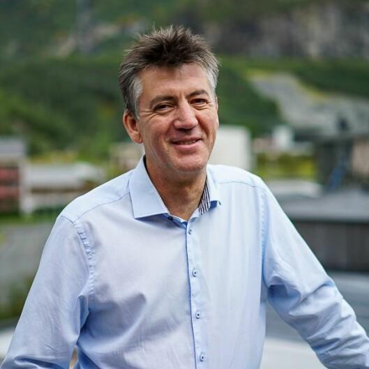Frank Østetun, dagleg leiar av Sitep.