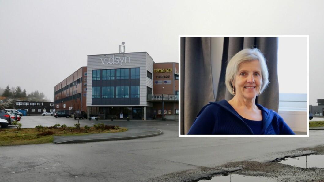 ANLEGG: Irene Kjelby Wergeland og Wergeland Gruppa har brukt 600 000 kroner på å prosjektere ein fleirbrukshall med symjebasseng i Sløvåg. Dei ønskjer eit interkommunalt anlegg for Gulen og Masfjorden.