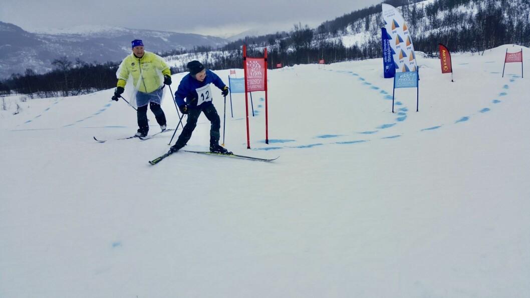 – Det å leika seg på ski har ingenting med alder å gjere, seier Tonje Norheim Tangerud.