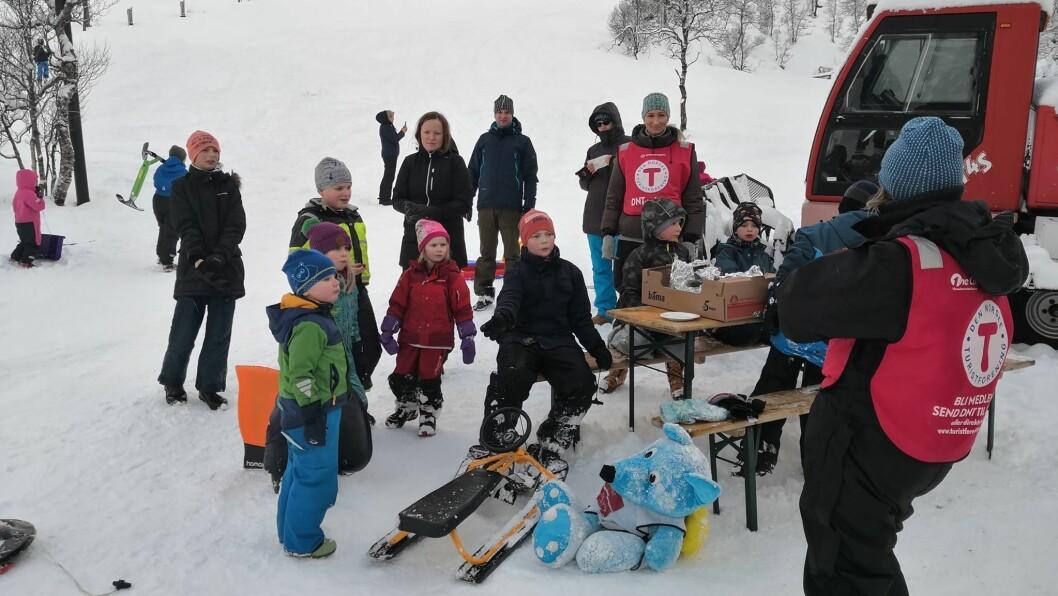 UTE: Turlaga arrangerer «Kom-deg-ut-dagen» for å få med alle ut i naturen.