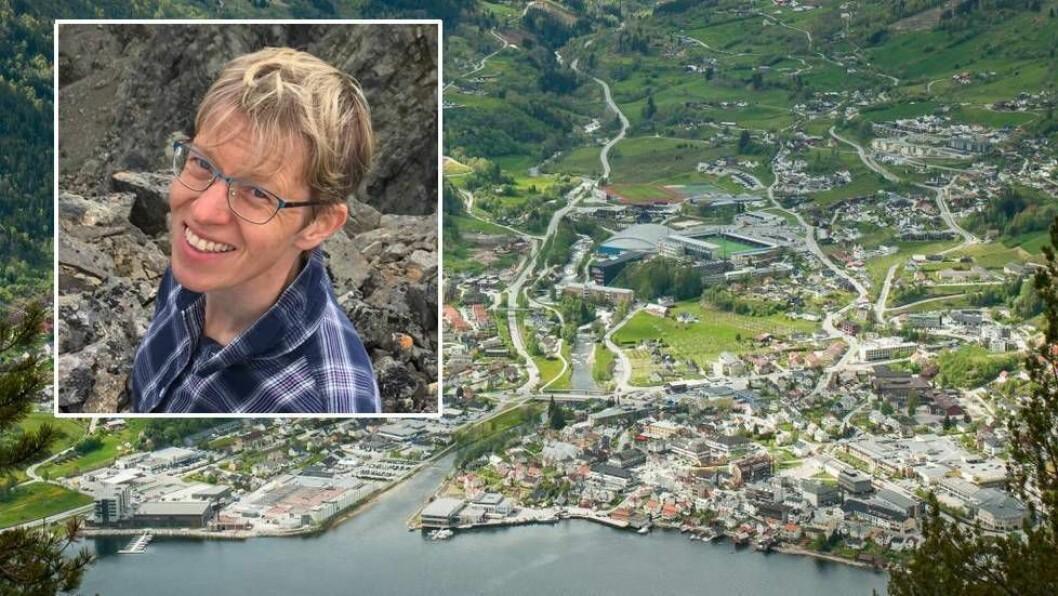 FRITT FRAM: Språkforskar Ragnhild Lie Anderson har laga ein database over dialekta i Sogndal, som er open for alle som ønskjer.