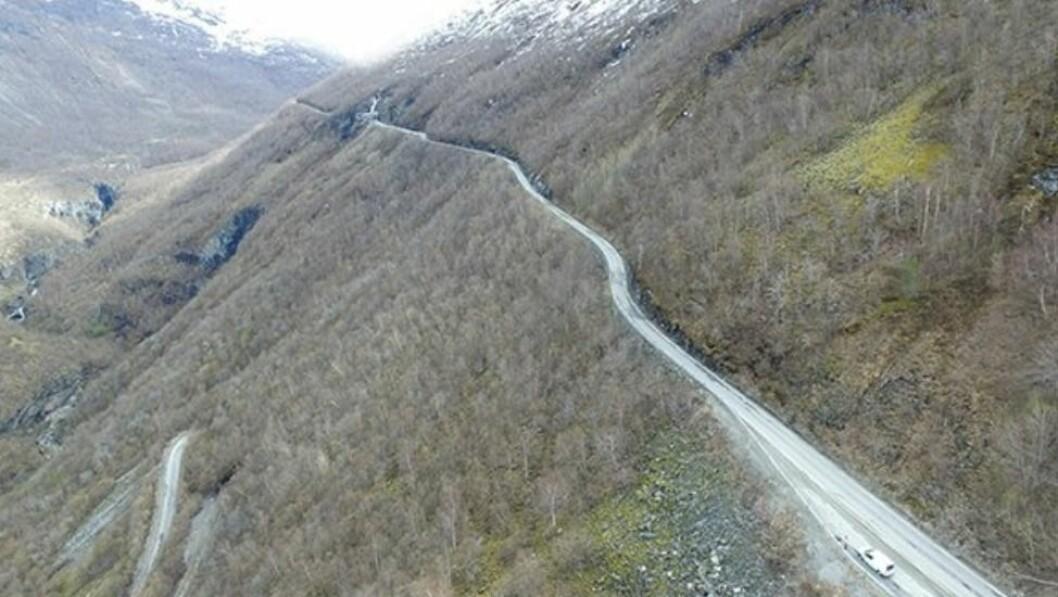 Vegvesenet har melding inne at arbeidet på Ljotelitunnelen er ferdig 8.april.