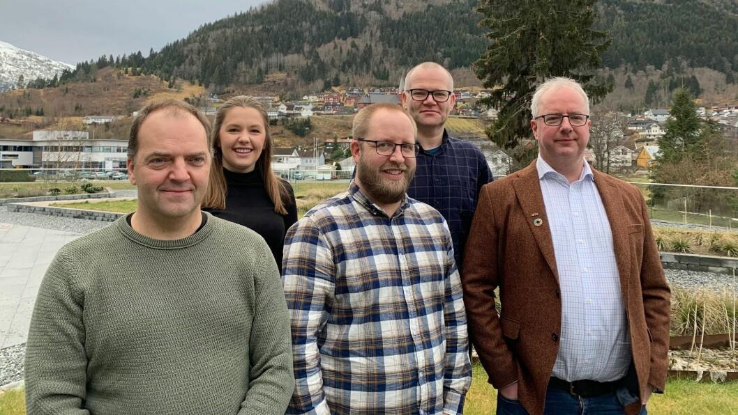 Måten me har jobba på har fungert bra for vår avdeling, seier avdelingsleiar forNorges Ingeniør- og Teknologorganisasjon (NITO) i Sogn og Fjordane, Jan Einan (t.h)