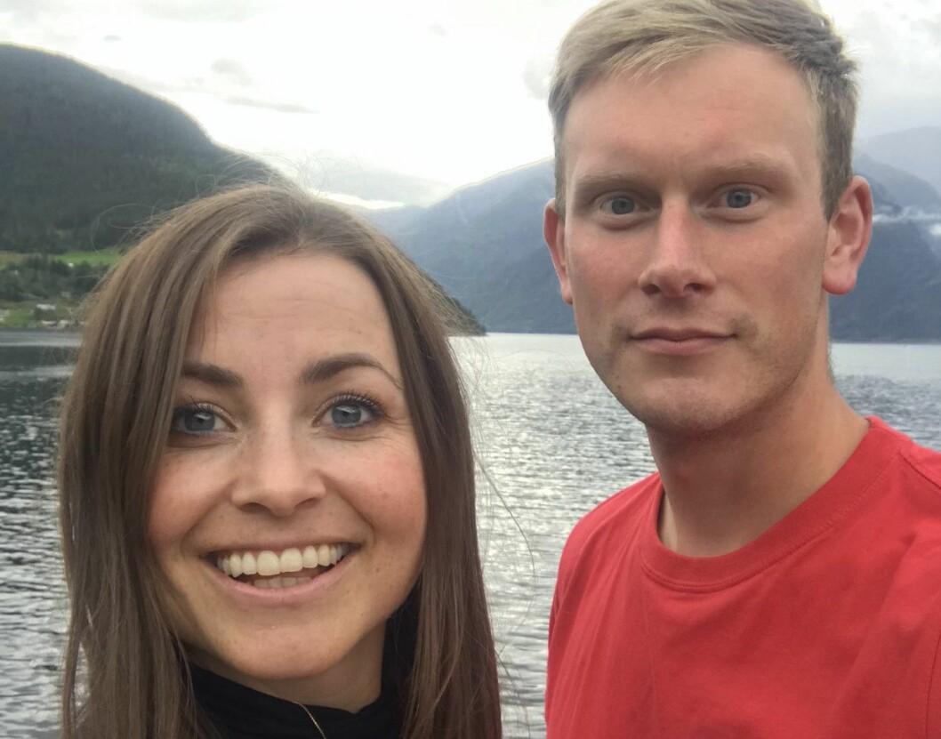 Henny Kristin Asperanden Navarsete og Stig Ove Ølmheim, kommunestyrerepresentantar for Sogndal Arbeidarparti.