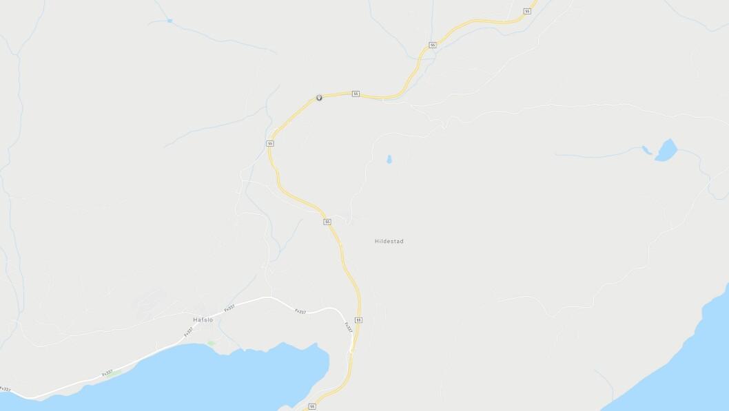 ULUKKE: Buss og personbil kolliderte i Luster.