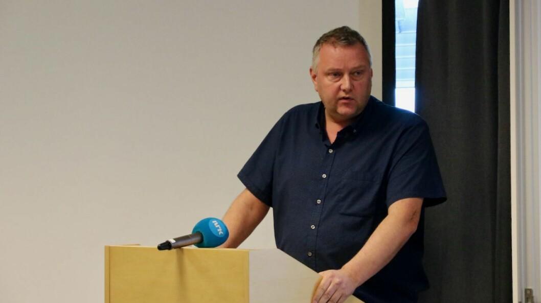 STYRELEIAR: Stein Inge Larsen har blitt styreleiar i Viktig Group AS