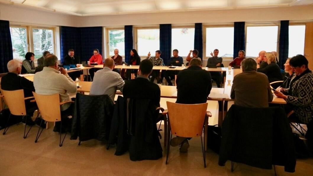 NEI: Kommunestyret i Gulen sa nei til å vere med vidare i geopark-prosjektet for delar av Ytre Sogn og Sunnfjord.