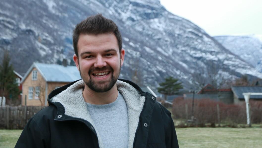 KLAR TALE: Torgeir Skjerdal ønskjer ikkje ei gondolbane i Aurland velkomen.