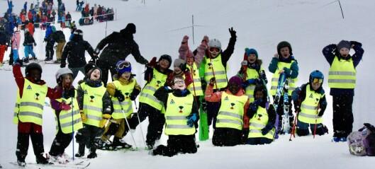 Unge fjellsportfolk på festival i Hodlekve