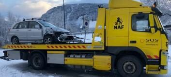 Vegen opna etter front mot front-kollisjon i Sogndal