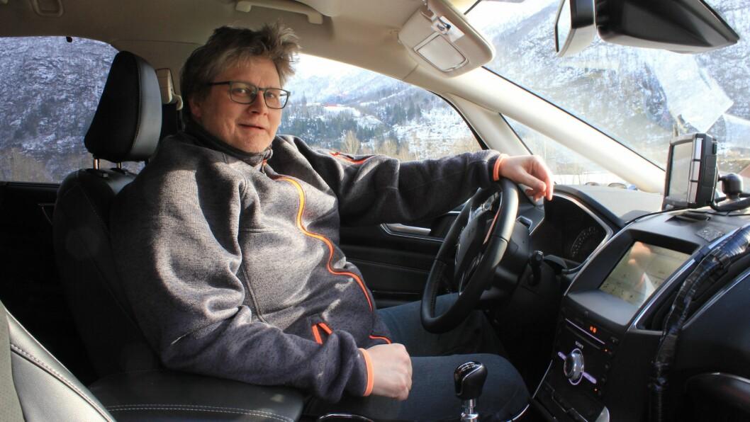 Jon Ove Eineteig har vore taxisjåfør i 20 år, no skal han ta ein etterlengta ferie.