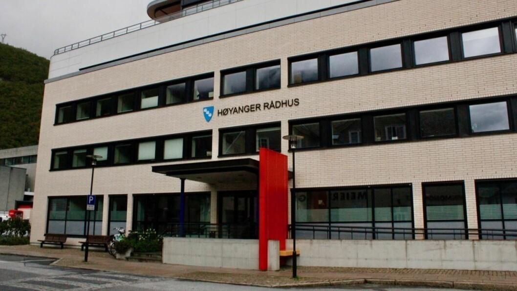 REKRUTTERING: Høyanger kommune rekrutterer til to leiarstillingar.