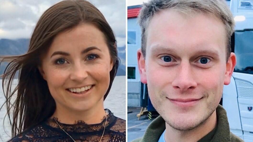 Henny-Kristin Asperanden Navarsete og Stig Ove Ølmheim, lokalpolitikarar for Arbeidarpartiet i Sogndal.
