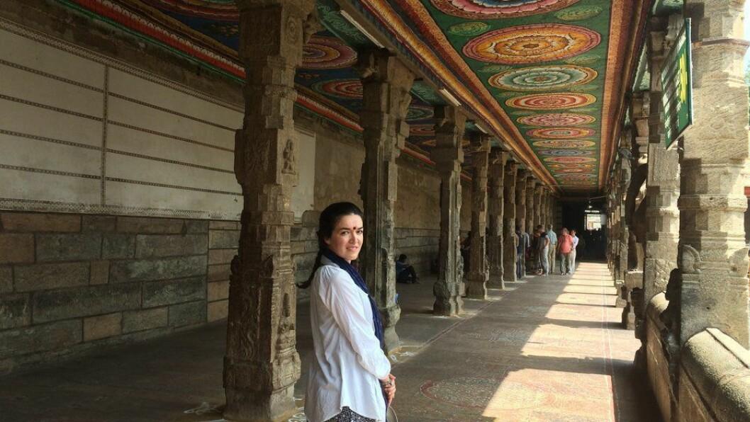 Fatima Dominguez har to mastergradar i frå Universitetet i Madrid. I dag jobbar ho som presse- og innhaldsleiar i destinasjonsselskapet Visit Sognefjord, og marknadsfører Sognefjorden som reisemål til heile verda.