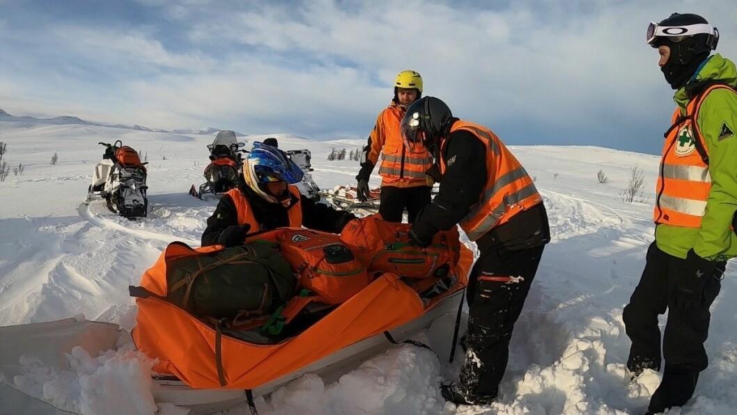 HENTA AV NORSK FOLKEHJELP: Turen til Ranveig Øren og hennar to klassekameratar gjekk ikkje heiltsom planlagt .