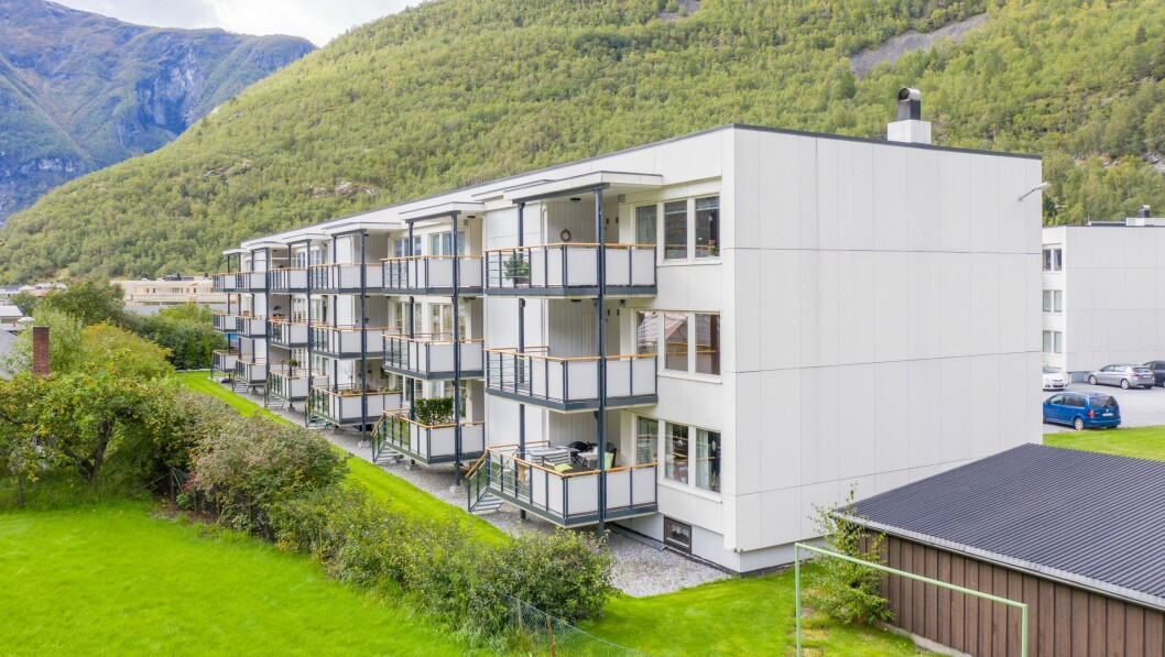 Leilegheiten i Flotavegen 6 B i Øvre Årdal blei selt til 1 200 000 kroner etter fyrste visning.