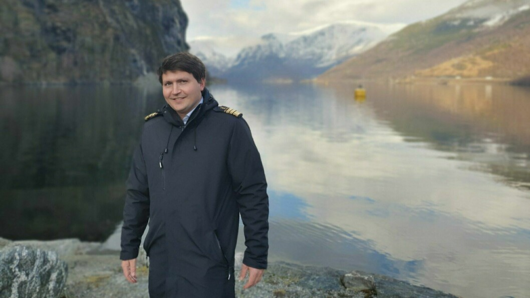 NY: Tor Mikkel Tokvam er ny hamnesjef i Aurland.