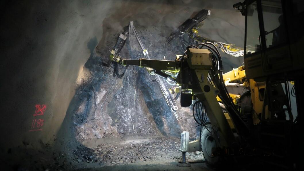GÅR FRAMOVER: Gjennomslag for den nye Ljotelitunnelen skal etter planen skje før sommaren.